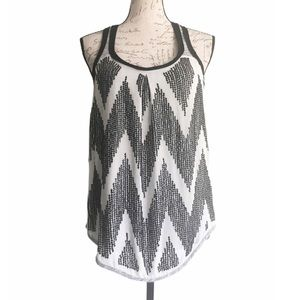 dolan Sequined Sleeveless Top Sz XS